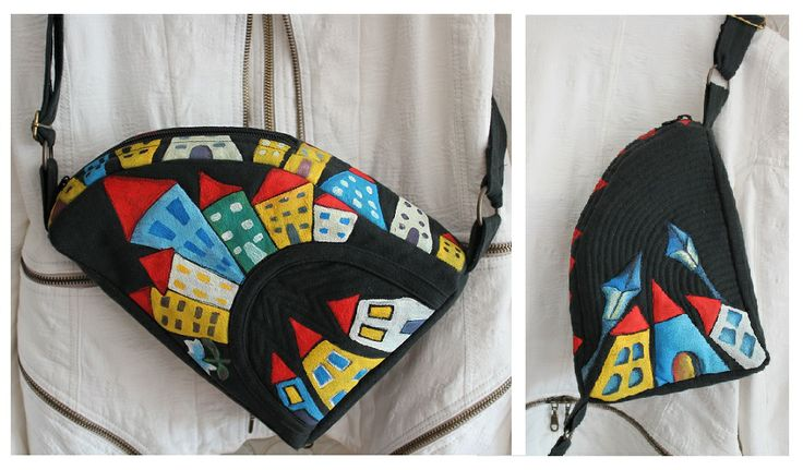 painted, quilted, bags, women, fashion