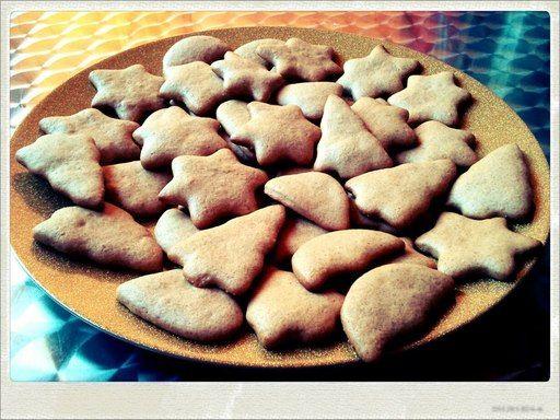Recette de Biscuits en pain d'épices de Noël