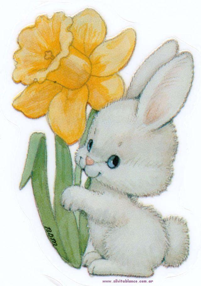 дополнением открытки зайцев с цветами время секса