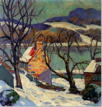 Fern Isabel Coppedge's art painting  Pennsylvania USA Impressionist Painter