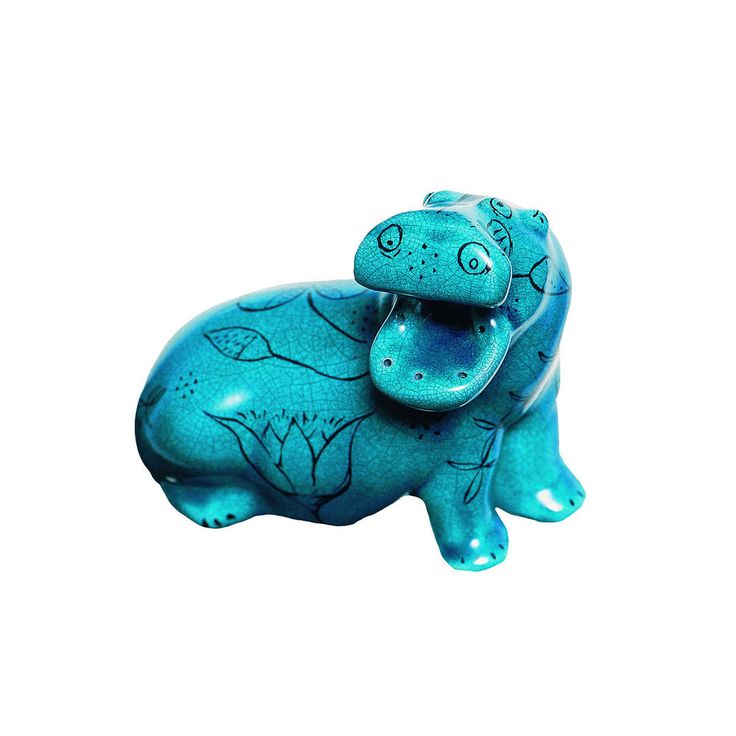 17 best images about egyptian faience hippo on pinterest for Faience turquoise