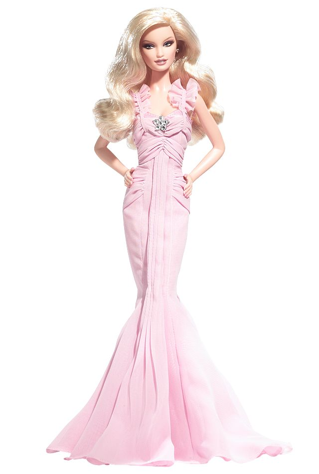 Pink Hope Barbie® doll is a glamorous and lovely tribute to the global fight against breast cancer. This internationally released doll brings a unique opportunity to educate people about breast cancer, and inspire and support those whose lives have been touched by the disease. Dressed in a pretty pink chiffon