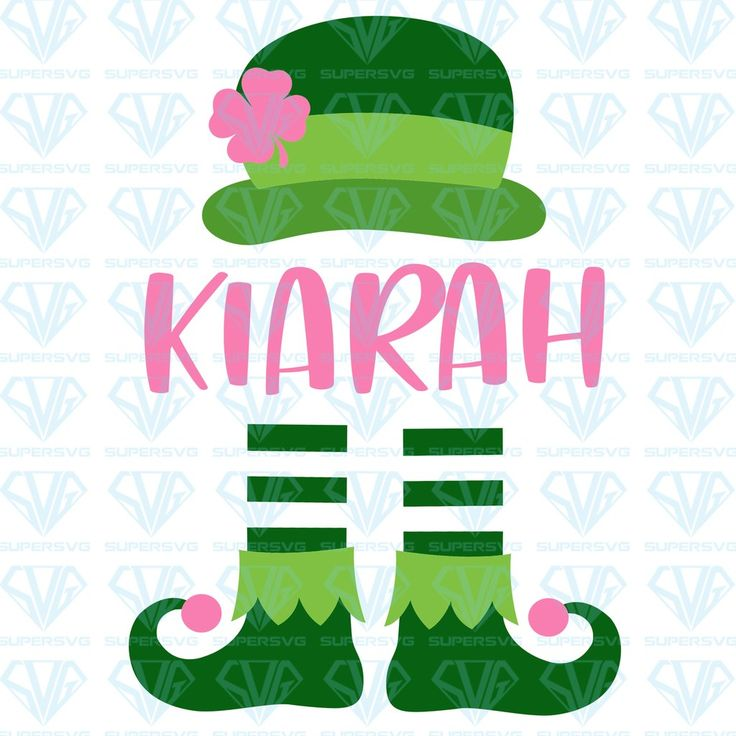 Download Girl St Patrick's Day SVG Files For Silhouette, Files For ...