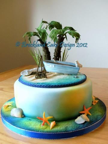 island wedding cake creations 1000 images about and sea cakes on 16498