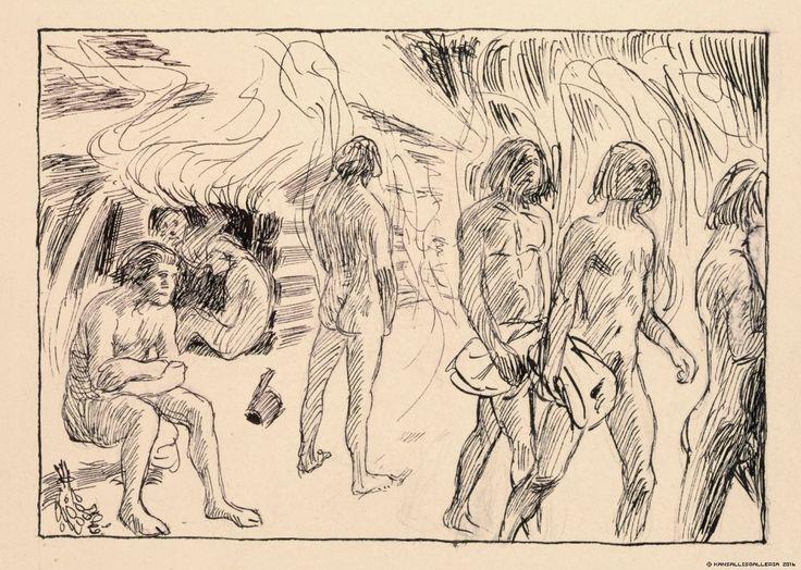 Saunasta tultua, 11. luku, 1907