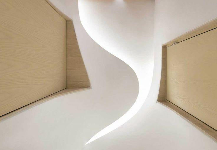 Apartment inspired by melting snow  http://www.morfae.com/apartment-inspired-by-melting-snow/  #interiordesign #homedecor #minimal