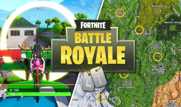 Fortnite Rings Is One Of The 14 Days Challenges In Battle Royale