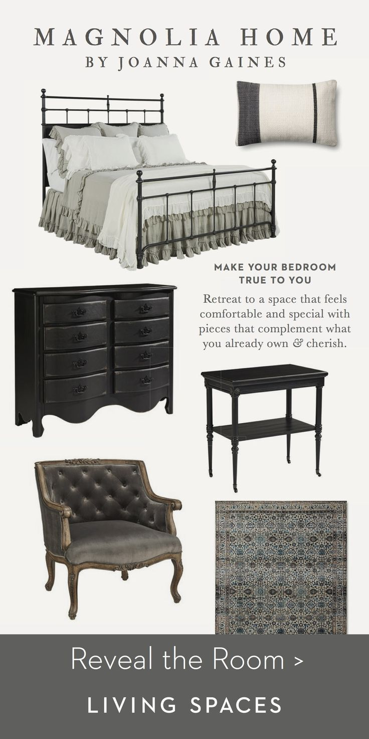 Magnolia Home By Joanna Gaines Bedroom Inspiration The Vintage