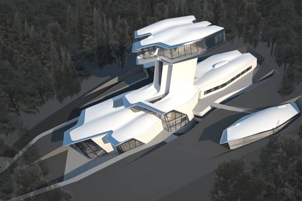 Naomi Campbell's New Home Is Amazeballs, Quite Possibly A Spaceship  Photo: Courtesy Zaha Hadid Architects