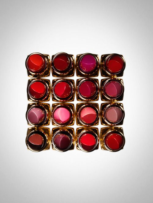 Chanel's Rouge Allure lipsticks, photographed by Frederik Lindstrom for Intermission magazine.