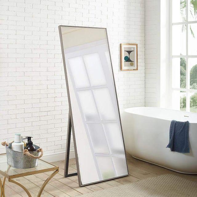 Check Out Full Length Mirror In Bedroom Girl Rooms Walk In Mirror Frame Bathroom Ideas Long Mi Modern Floor Mirrors Full Length Mirror In Bedroom Long Mirror