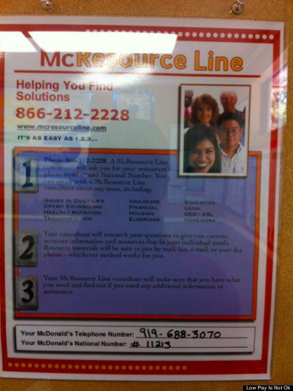 mcresource. McDonald's Food Stamps
