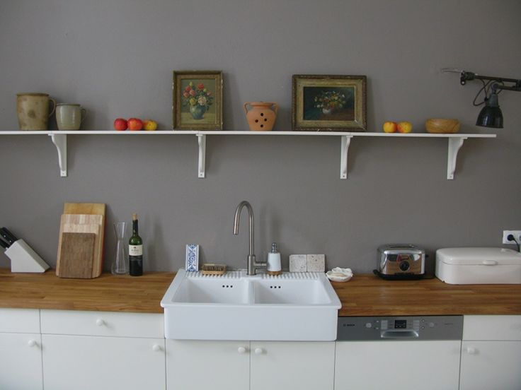 gray wall in the kitchen painted farrow and ball charleston gray