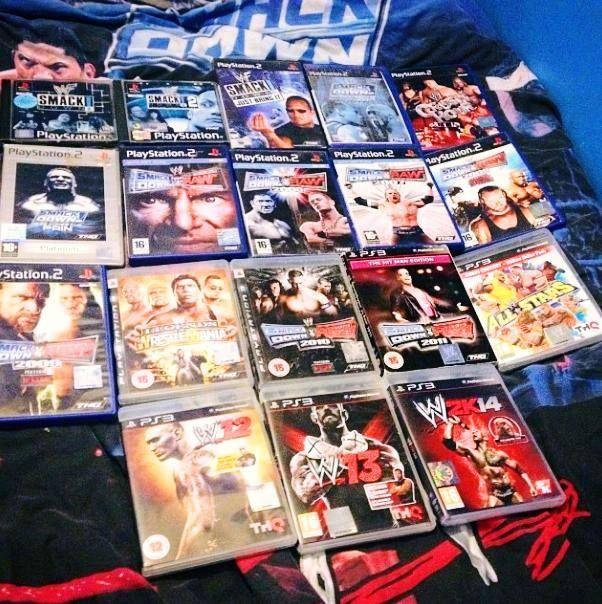 #WWE Games