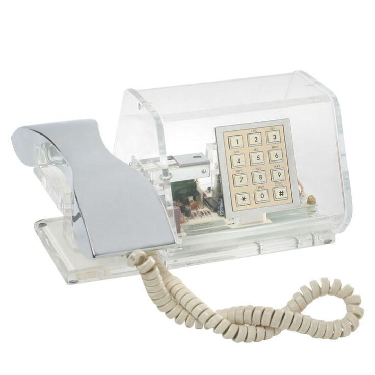 1960s Lucite Phone