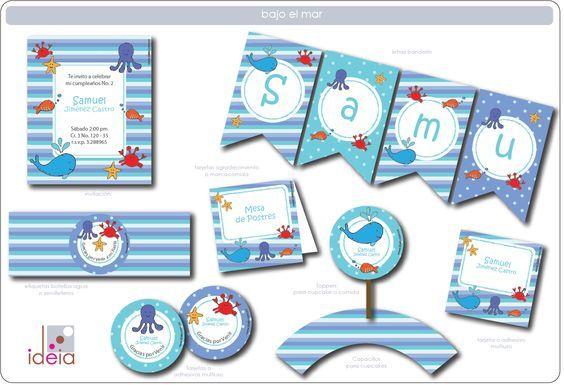 tarjeta Cumpleaños bajo el mar - Buscar con Google