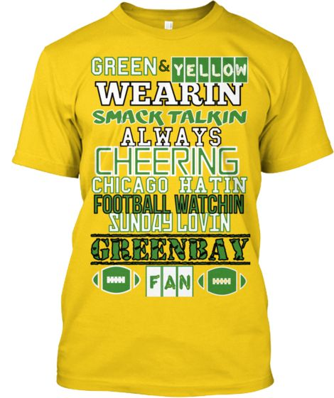 GREEN-BAY PACKERS | Teespring
