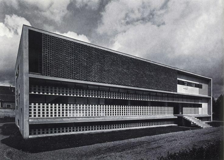 Tuberculosis Clinic | 1933-1938 | Alessandria, Italy | Ignazio Gardella