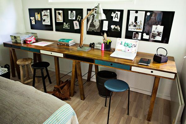 inspiring home office space