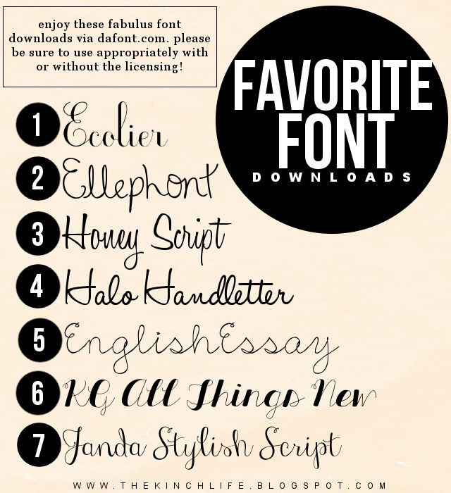 Friday Freebie!Friday Freebie!Font Downloads!How To: Make Your Own FontFriday Freebie