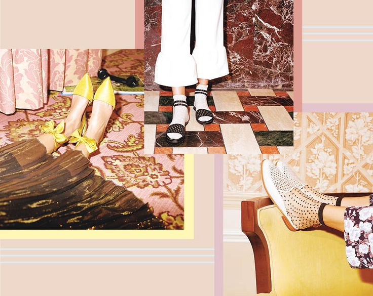 These Are Spring's Must-Buy Shoes  Here's what you need to know about spring's five essential shoes: Ladylike vibes are back, luxurious touches are key, and cool socks kick up almost all the season's notice-me footwear. Here, the five shoes and socks you should invest in this spring.