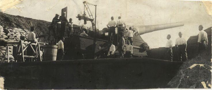 Çanakkale'de Bowet zırhlısını batıran top ve eratı