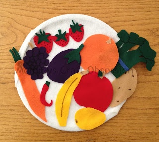 DIY Felt Fruits & Veggies! Inexpensive and fun for your little ones!