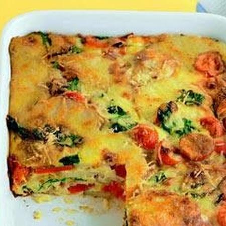 Easy oven-baked frittata