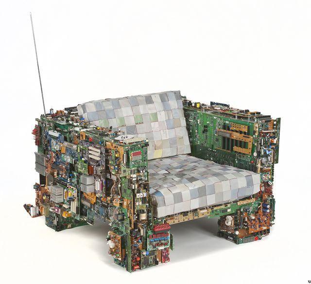 Recyclage | Le mobilier binaire par BRC Desings