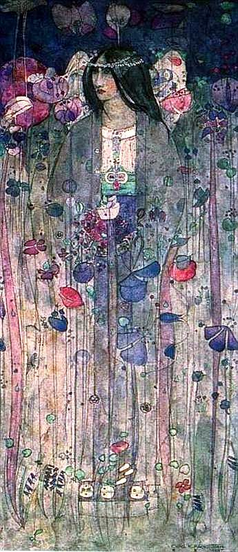 In Fairyland (1897) by Charles Rennie Macintosh