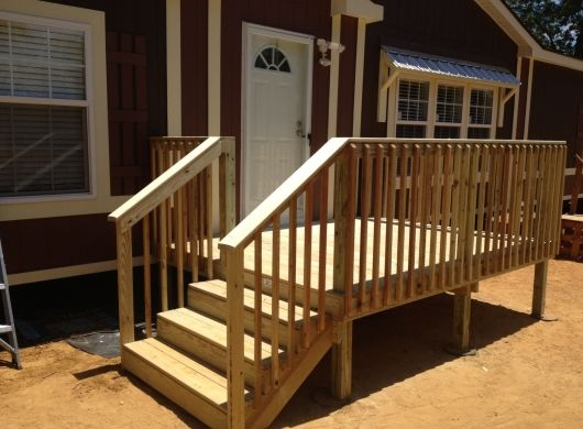 Best 8 X 10 Ready Deck Mobile Home Porch Manufactured Home 400 x 300