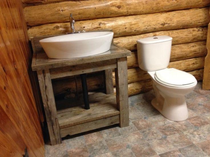 Small Rustic Bathroom Vanity U Throughout Design Ideas