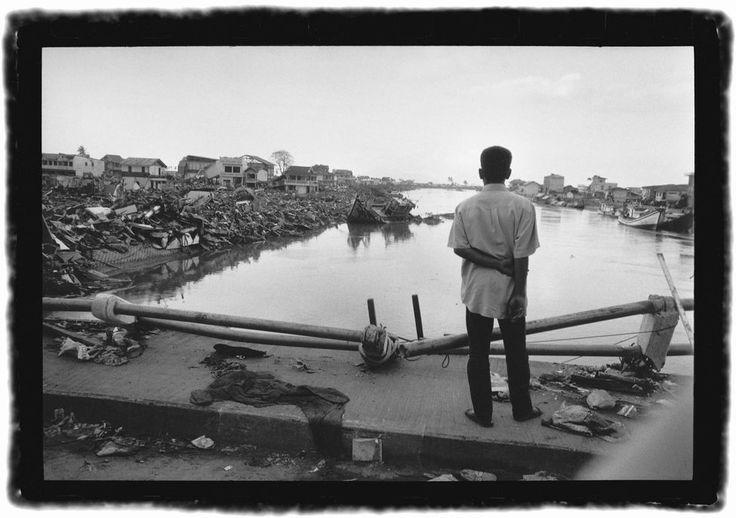 Indonesie, janvier 2005. Gérard Rondeau s'en est allé......Missions : Ile de Sumatra, Banda Aceh (Médecins du Monde)