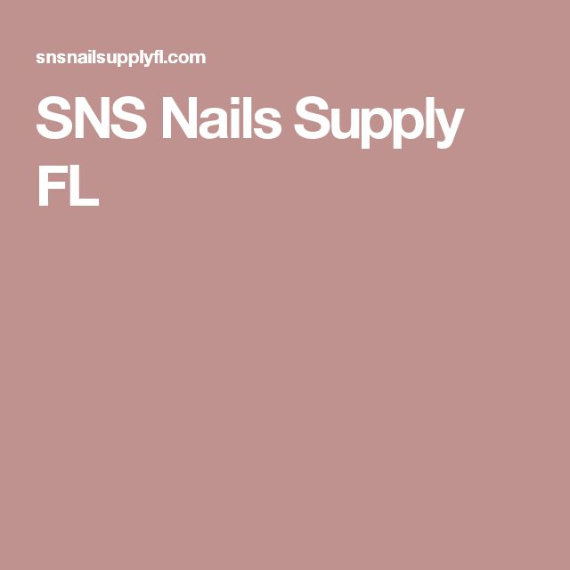 SNS Nails Supply FL
