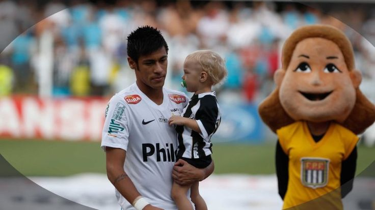 my father who play Santos Fc
