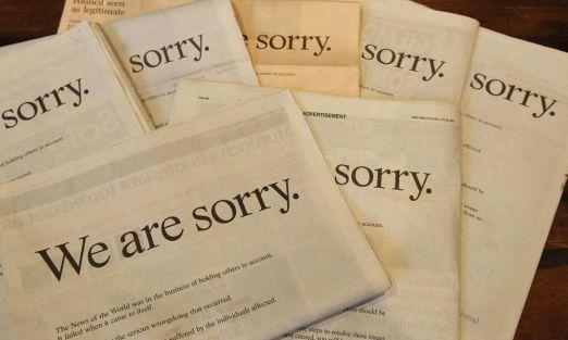 ¿Por qué se disculpan tanto los británicos?
