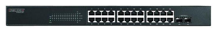 """Gigabit Ethernet 24+2 SFP ports, L2 web-smart managed switch, rack 19"""""""