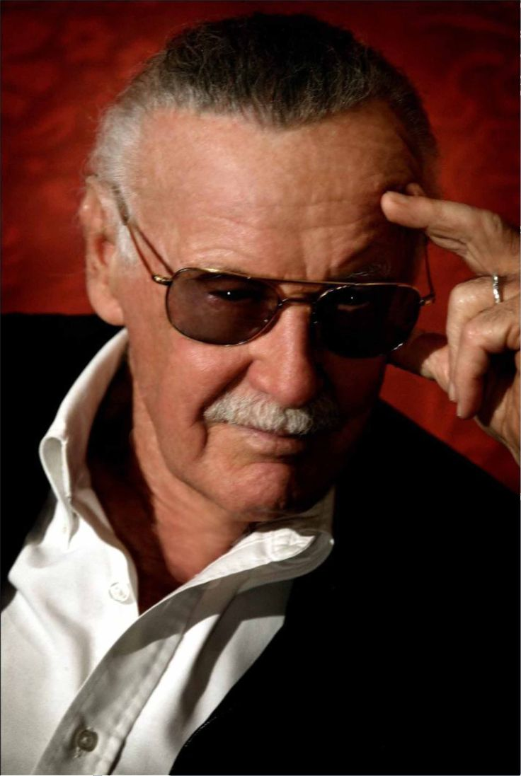 Geek Gods and Demigods: Stan Lee, The Man, the Godfather of Geekdom, the creator of some of the most iconic comic book characters ever.