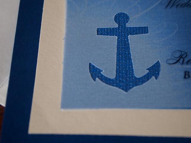 The Grant Life: You are Cordially Invited [Invitations] - Nautical wedding invitations