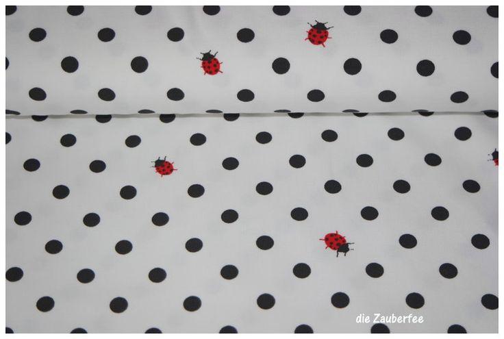 Stoff Punkte - sweet bugs, Stretchjersey, - ein Designerstück von dieZauberfee bei DaWanda