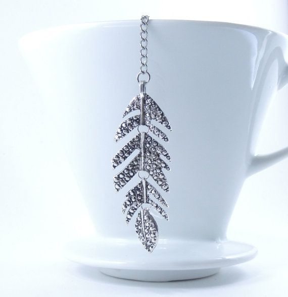 Loose Tea Infuser Tea Strainer Leaf by 9thfloor on Etsy, $10.00