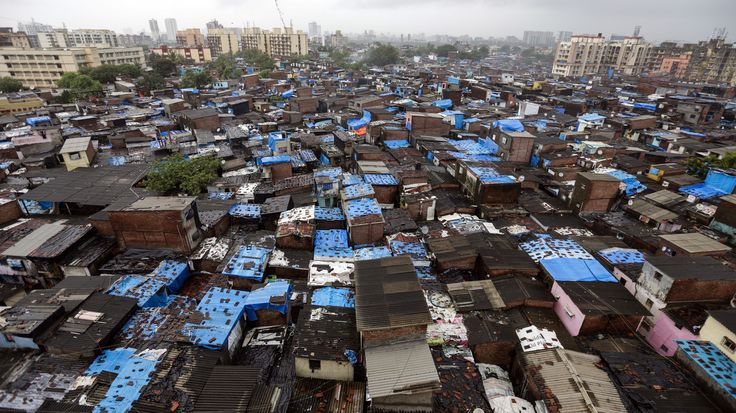 epa05414285 (04/28) A general view of the Dharavi area  that is one of the largest slums in the world in Mumbai, India, 02 July 2016. Current Population of India in 2016 is 1.33 billion (133 crores) and soon  India is set to replace China as the most populous country in the world by 2025, a news reports said. Asia's population is more than 4.4 billion people and rising, the region claims more than half of the total world's population. China with about 1.38 billion people is the most populous…