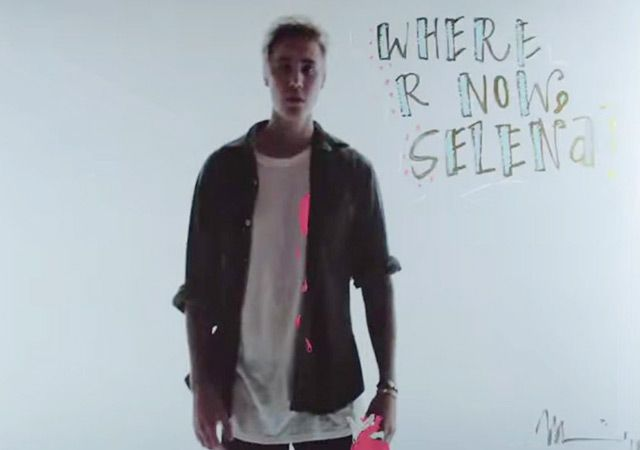 And the Jelena drama continues. Justin Bieber released his music video for 'Where Are U Now' on June 29, and while some fans may be focusing on his sexy dance moves, our attention has been on the messages that flash across the screen. One reads, 'WHERE R NOW, Selena.'