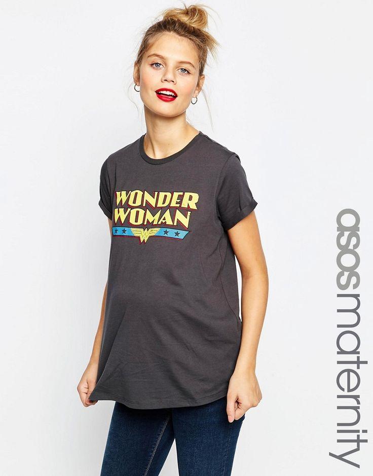Image 1 ofASOS Maternity Wonder Woman Tee