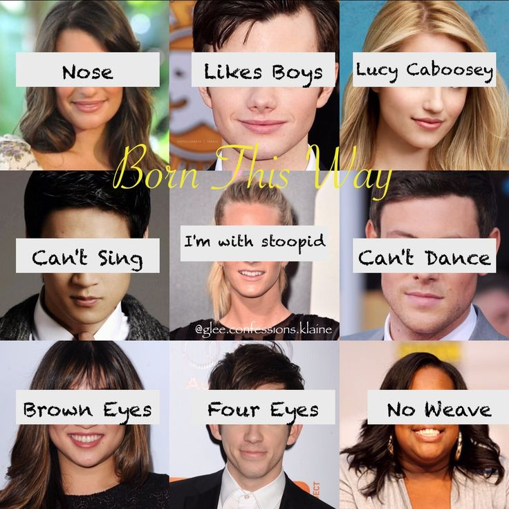 Made by @glee.confessions.klaine and @photography._.riley_ on instagram