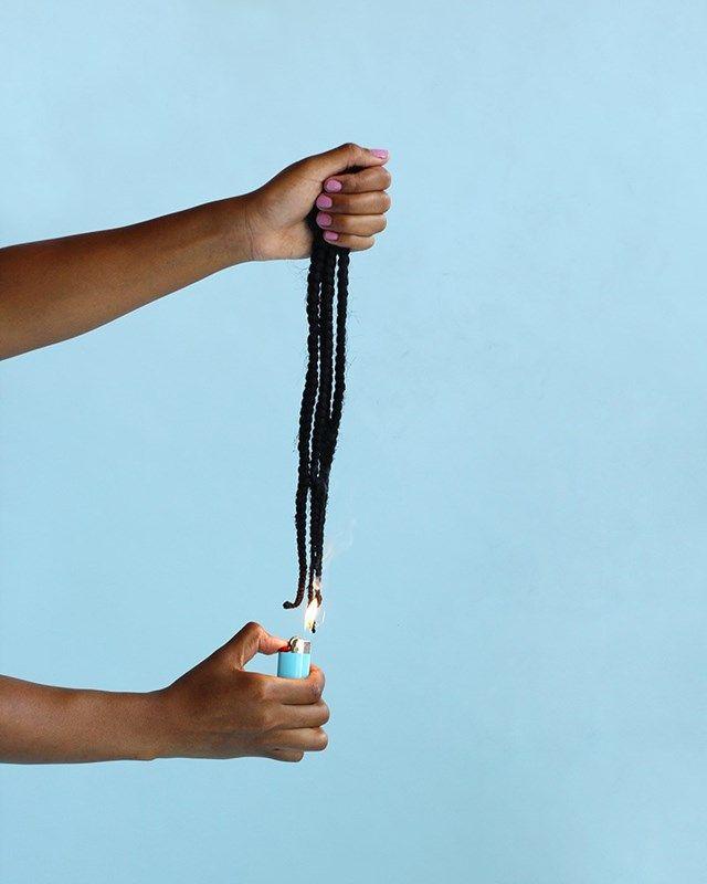 Photographer Nakeya Brown documents the daily grooming rituals black women undergo to meet society's idea of 'beauty': http://www.dazeddigital.com/photography/article/26086/1/nakeya-brown-using-photography-to-refute-white-washed-beauty-standards