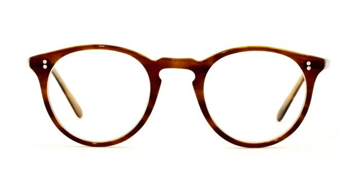 O'Malley, (Brown Tortoise Cream), Oliver Peoples.  (These frames were designed after former LA Dodgers owner Peter O'Malley's).