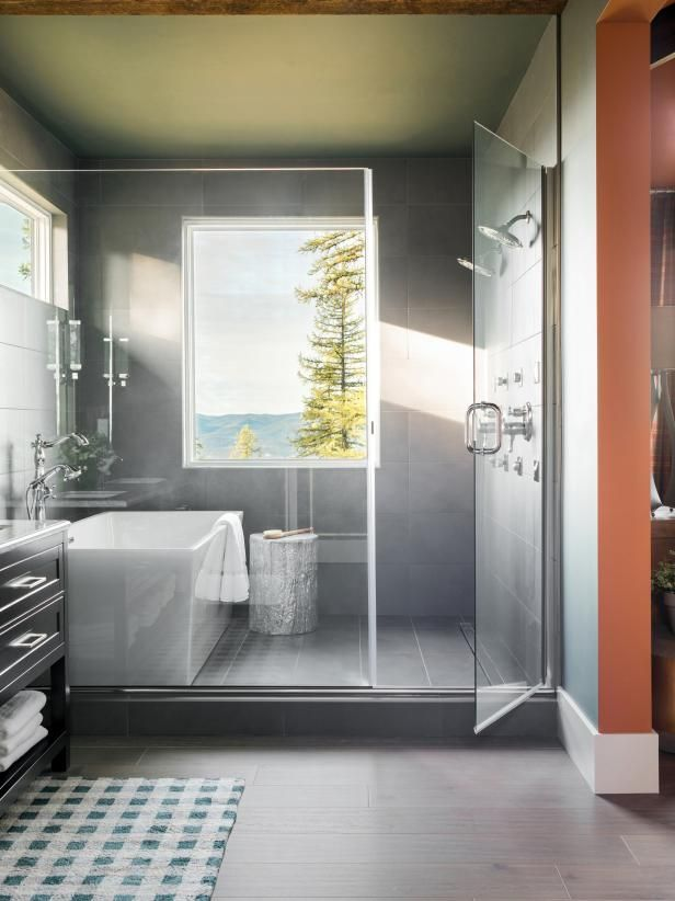 Get Tips For Designing A Master Bath As Luxurious And Enticing As Those Found In The F Bathroom Remodel Master Farmhouse Master Bathroom Small Bathroom Remodel