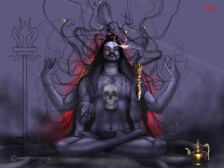 Siva  - Digital Art by Tarun Kumar in Paintings at touchtalent