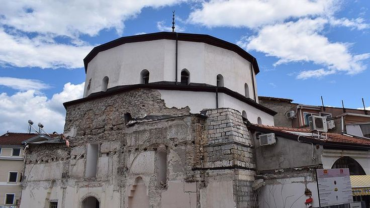 Makedonya'nın turistik Ohri şehrindeki tarihi Ali Paşa Camisi, Vakıflar Genel Müdürlüğünün desteğiyle restore edilecek.